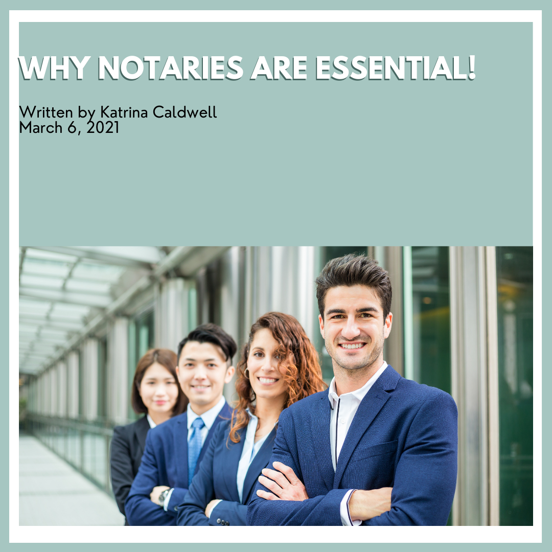 Why Notaries Are Essential